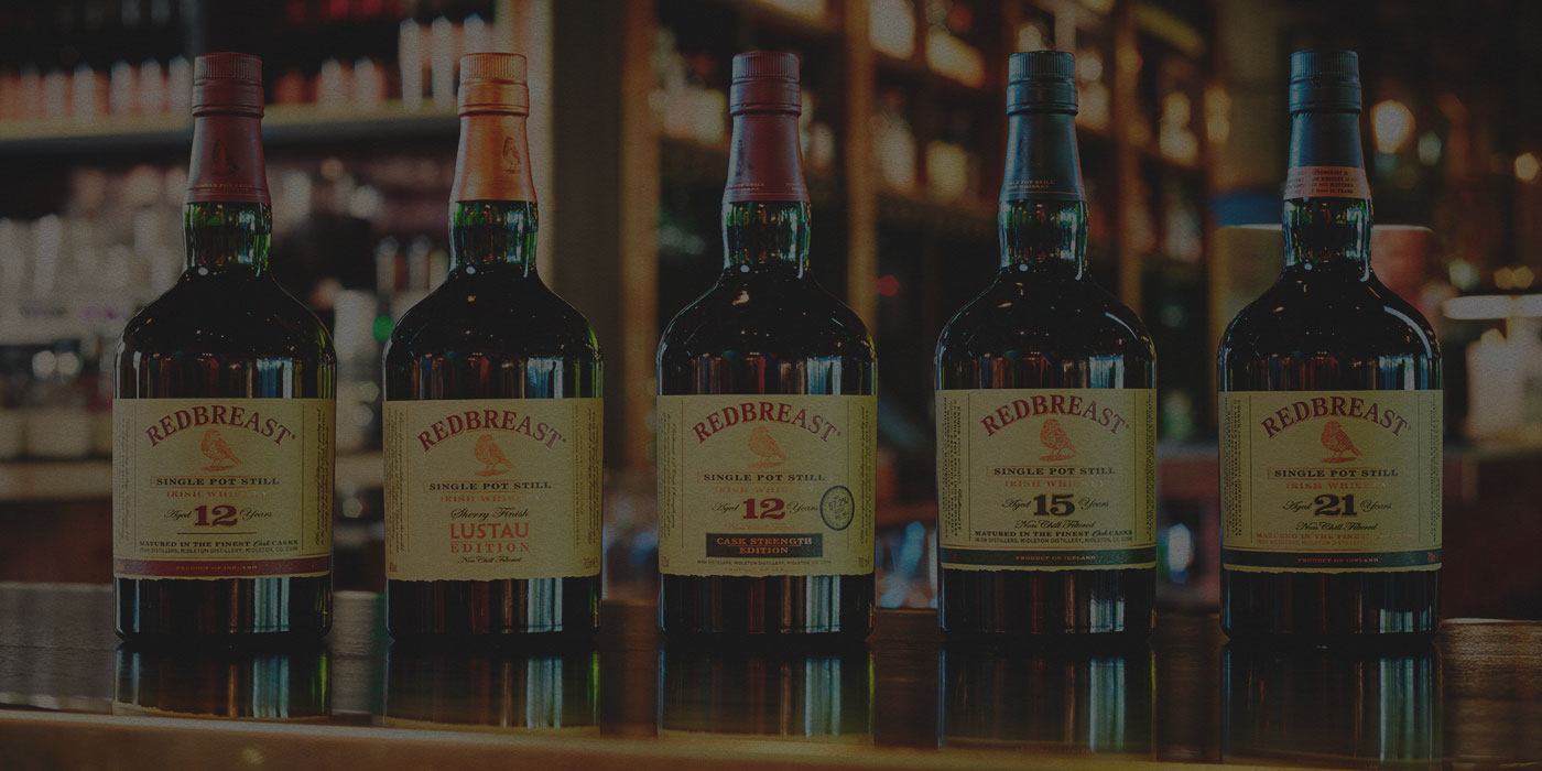 Redbreast Whiskey Range